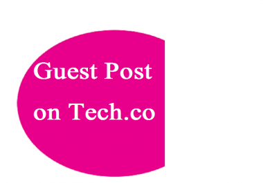 I have an article which i want to publish on tech. co