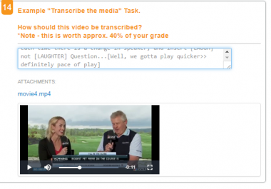 Transcriber Needed as soon as possible. Now