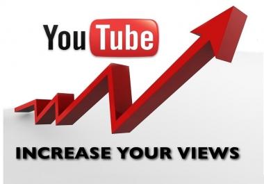 20k YouTube views high retention needed