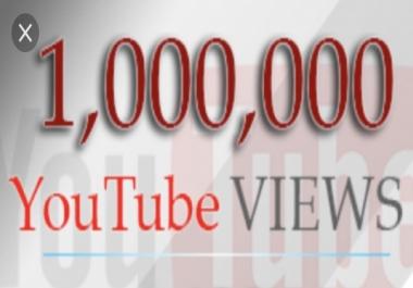 A million YouTube views