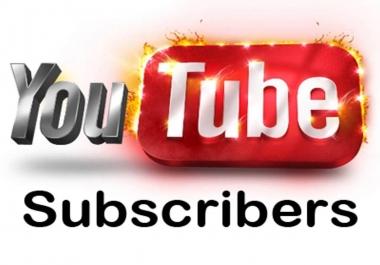 1000 Y O U T U BE Subscribers