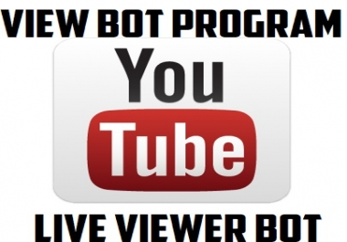Need a Youtube Gaming Live Viewer Capable Youtube View bot