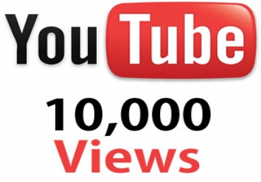 10,000+ Y O U T U B E Views