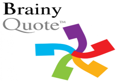 Need to add 3 quotes on brainyquote. com