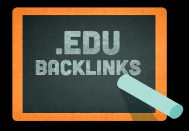 i need 5K. edu backlink