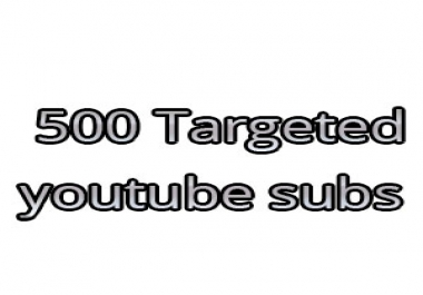 Need 500 subscribers