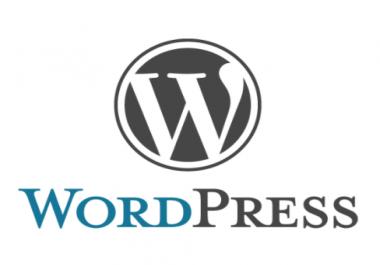 Wordpress blog custom made template