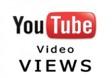 YOU TUBE VIEWS FAST RELIABLE SELLER WANTED