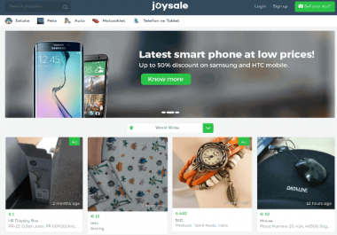 looking for carousell-clone script or LetGo Clone Script
