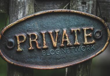 Private Blog Network consulation