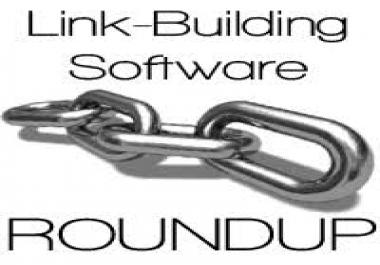 Backlink building software