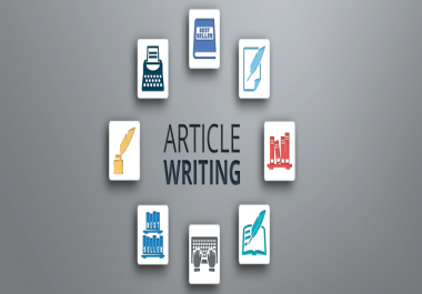Article writing on keyowrds or website