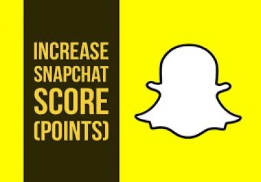 Need Snapchat score of 30,000