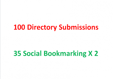 Directory Submission and Social Bookmarking