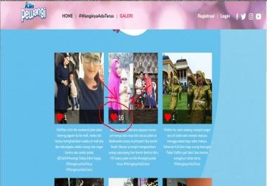 IP vote like web photo