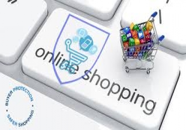 Create an online shop on my website for me