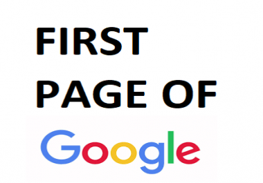 Rank my site first page of Google guaranteed