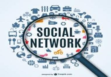 build a social network site