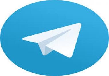 Need 1000 telegram group members