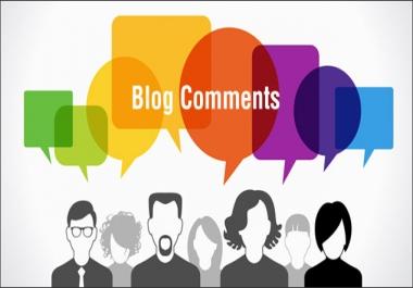 Provide me 5-10 Blog comments