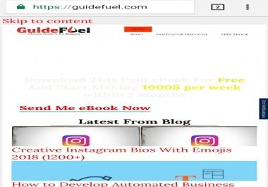 Fix wordpress website