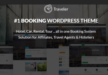I need Traveler WP theme