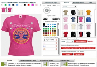 looking for t shirt printing software