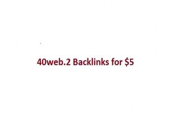 40 seo backlinks