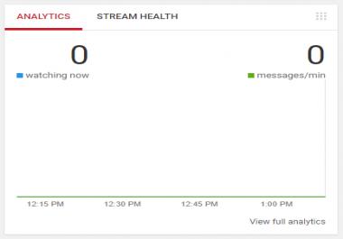 Youtube LiveStream HELP NEEDED