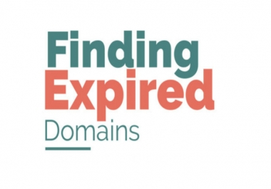 Need someone to find high da expired domain name for me