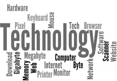 Technical writing Technology writing