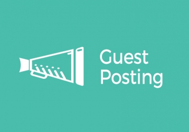 LOOKING SOMEONE TO DO GUEST POSTING