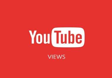 10,000+ YT iews non dropped and completed in 48 hours