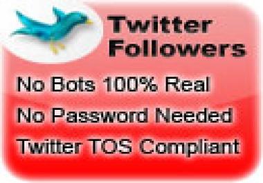 450K Twitter Follwers needed