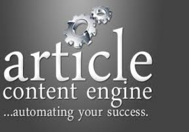 wRITE unique article and then manually submit it to article submission websites and give you report