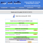 MWT Reseller panel with 100000 preloaded traffic