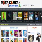 To start an online freegames website