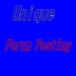 CREATE 35 high quality forum posting link