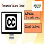 Get Closed Captions For Your Videos On Amazon Video Direct