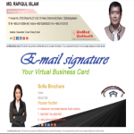 HTML Email Signature your virtual business card