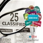 Post 25 ads on different high pr classified websites