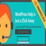 help with any 4 tasks related to WordPress